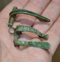 A very cheap group of 3 assorted Roman bronze Fibula Brooches from North Yorkshire (Group 4) SOLD